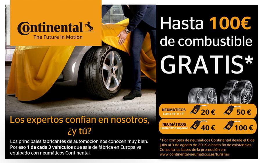 Oferta Neumáticos Continental