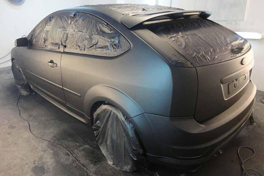 pintar un coche con vinilo color mate
