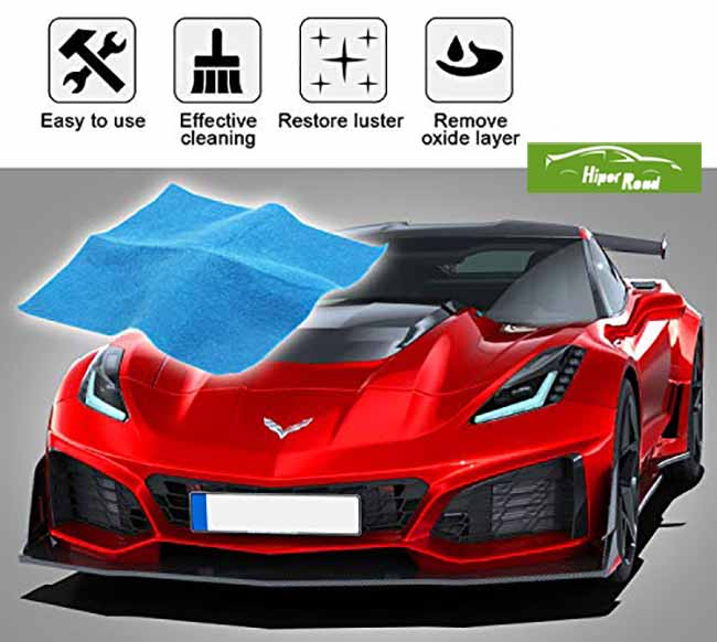 Kit de reparacion de aranazos coche rojo