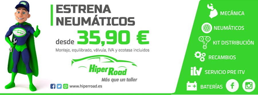 Oferta neumáticos Hiper Road