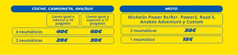 Cheque Neumáticos Michelin